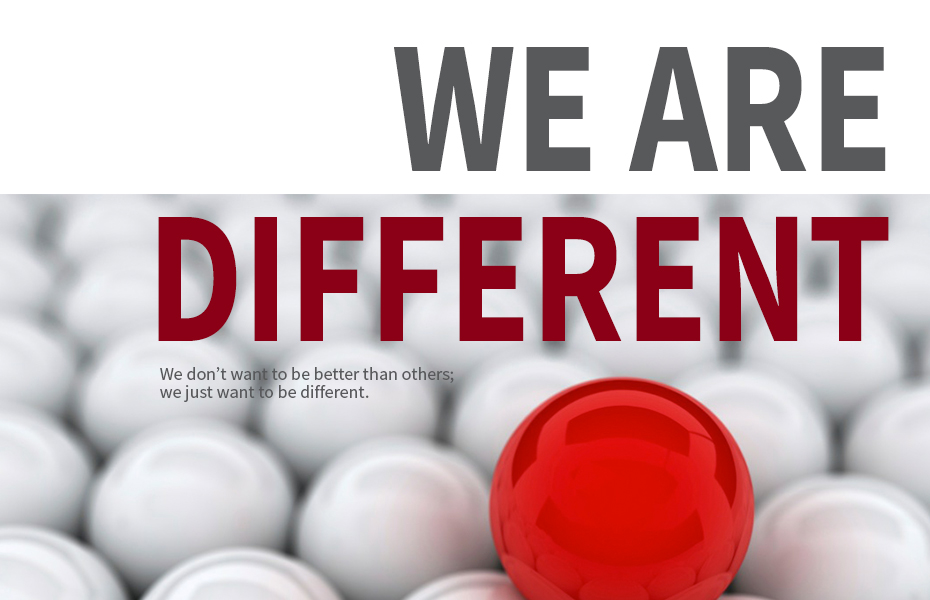 As an event management company we are different.
